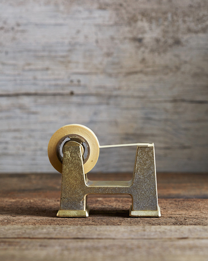 Futagami Brass Tape Dispenser - Small