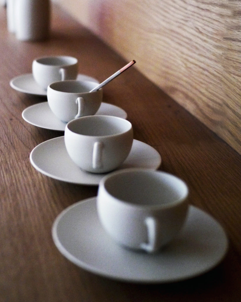 Tetsuya Otani Small Teacup and Saucer (OUT OF STOCK)