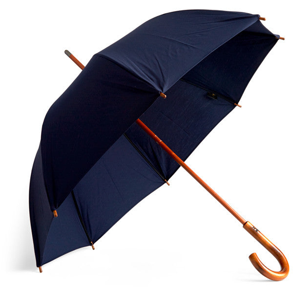 Cotton Umbrella - Navy