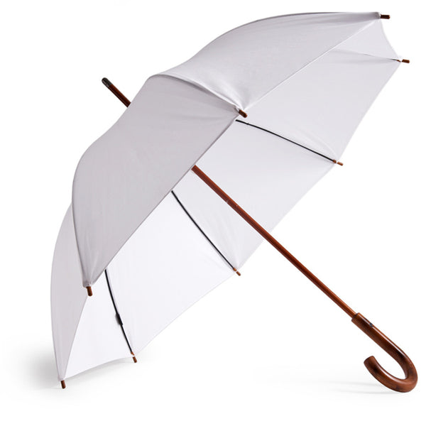Cotton Umbrella - White