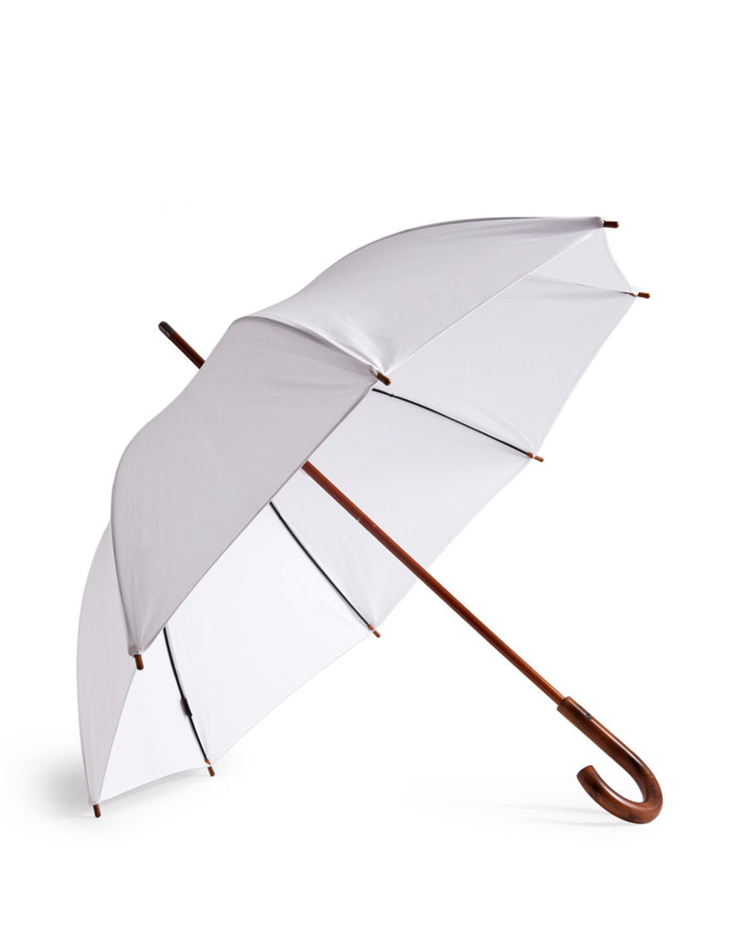 Umbrella Shop Cotton Umbrella - White (OUT OF STOCK)