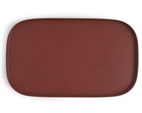 Red Makiji Tray - Rectangular