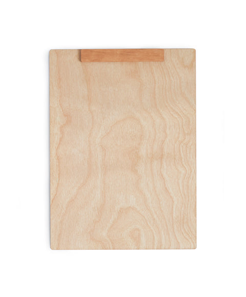 Wood Clipboard - White Cherry
