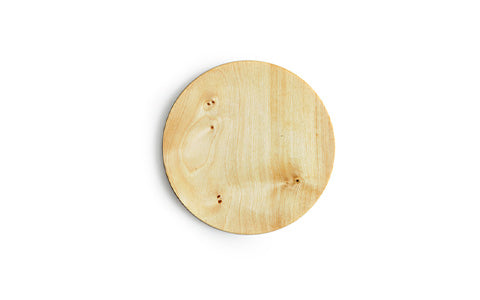 Small Wood Plate - Tochi Wood