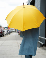 Umbrella Shop Cotton Umbrella - Yellow (OUT OF STOCK)