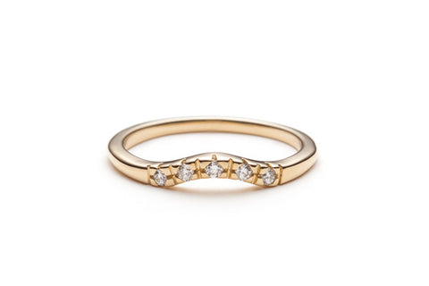 Diamond Curve Band