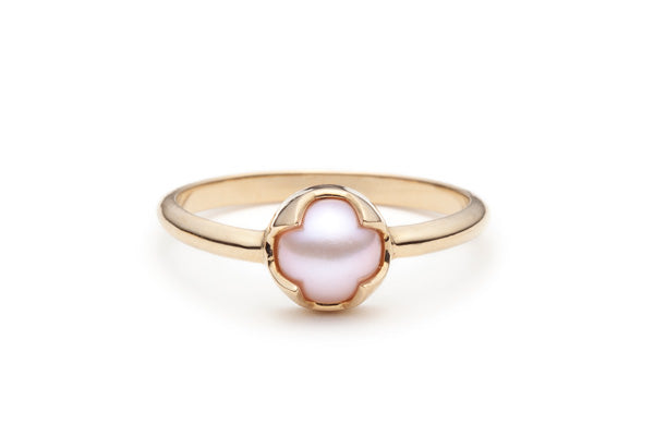 Load image into Gallery viewer, Rosecut Pearl Ring