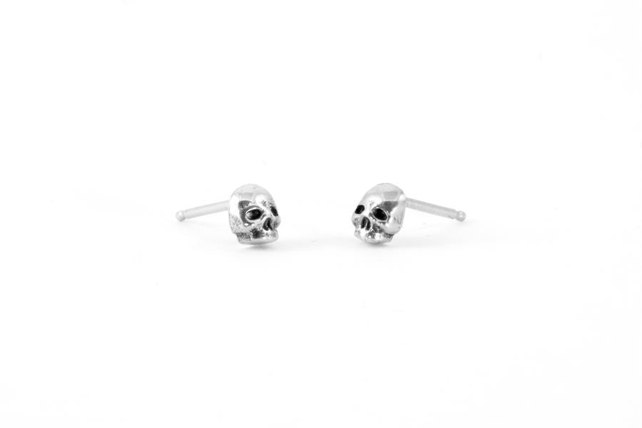 Load image into Gallery viewer, Memento Mori Earrings