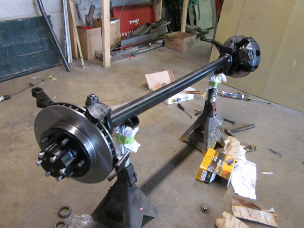 Scout 800 Front Axle