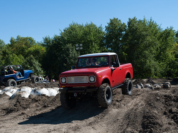 IH Scout 800 Offroad Course