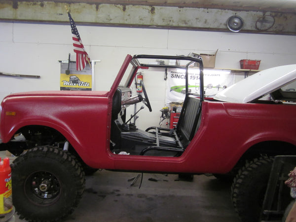 Scout 800 roll bar