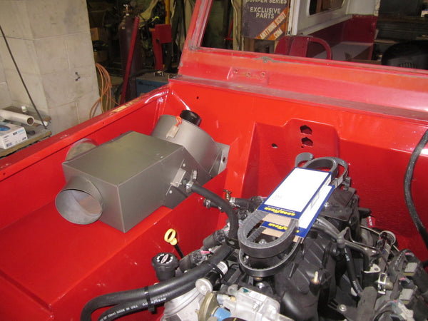 IH Scout 800 Heater Box