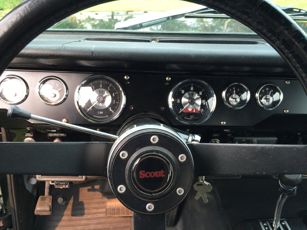 Scout II upgraded gauges