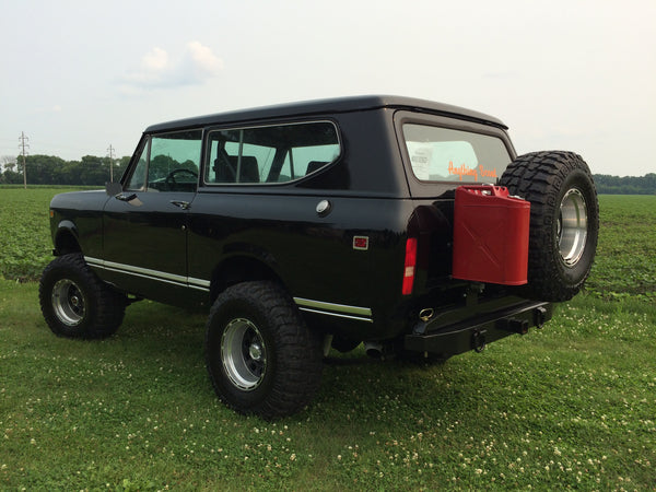 Scout II Black Workman Bumper