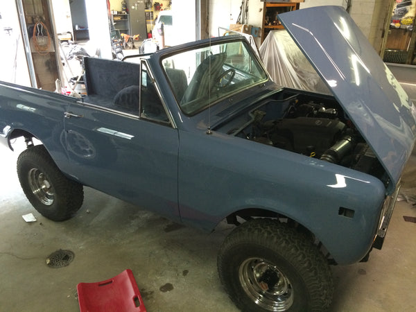 Scout ii Restoration blue