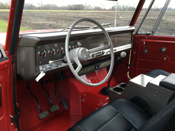 Scout 800 original interior