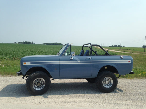 Scout II no top rollbar