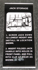 Jack Storage Decal - Scout II