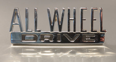 All Wheel Drive Emblem - Scout 80/800
