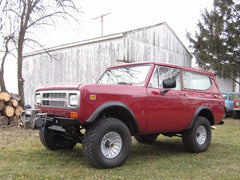 Scout II fender flares