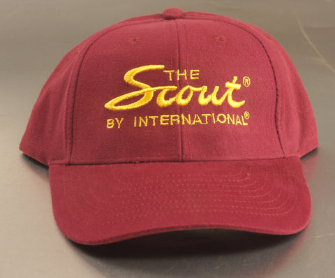 """the Scout by International"" Hat - Maroon"