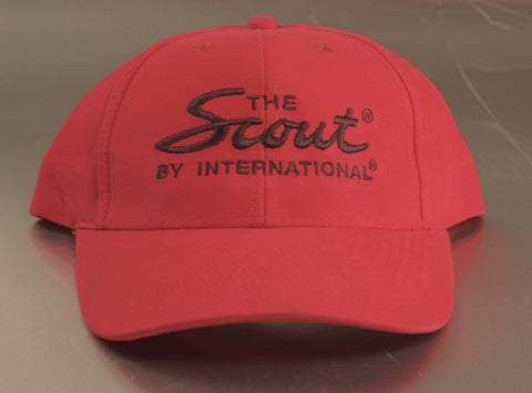"""the Scout by International"" Hat - Red"