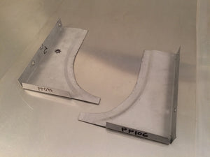 Door Pillar Quarter Panel Gusset - Scout II