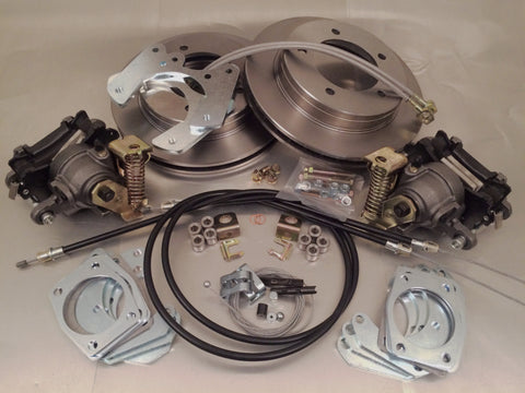 Disc Brake Conversion Kit, Rear