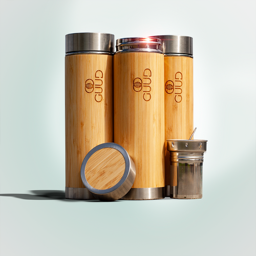 17oz Ultimate Insulated Bamboo Bottle - GUUD Products