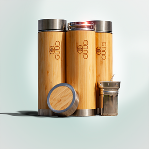 17oz Ultimate Insulated Bamboo Bottle