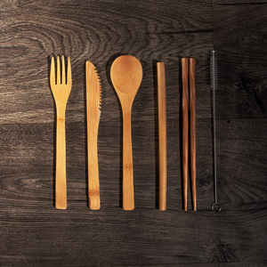 6-piece Bamboo Cutlery - GUUD Products