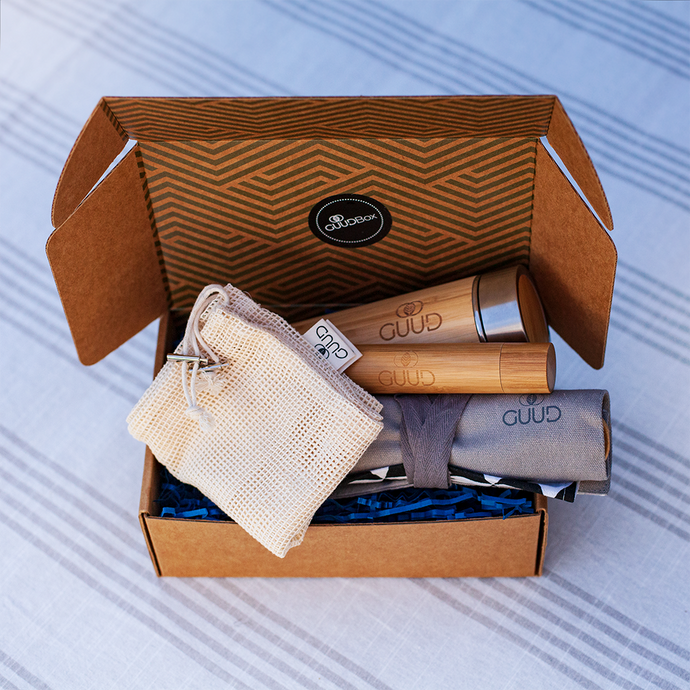 The GUUD Box | Zero Waste Gift Set in GRAY