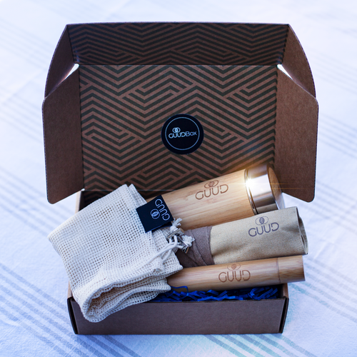The GUUD Box | Zero Waste Gift Set in TAN