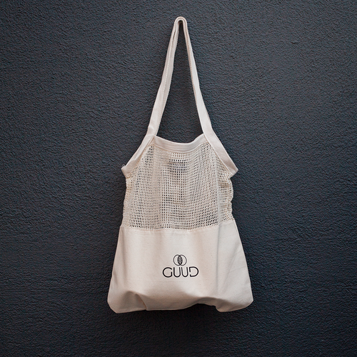 Everyday Half Mesh Tote Bag - GUUD Products