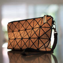 Load image into Gallery viewer, Natural Cork Prismatic Geometric Bag - GUUD Products