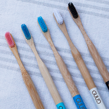 Load image into Gallery viewer, Bamboo Toothbrush and Travel Case - GUUD Products