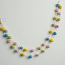 Load image into Gallery viewer, Handmade Felt Garland | Pastel Colors