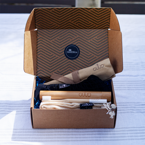 The Little GUUD Box | The Essential Zero Waste Gift Set in TAN