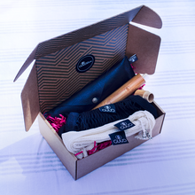 Load image into Gallery viewer, The Little GUUD Box | The Essential Zero Waste Gift Set in BLACK