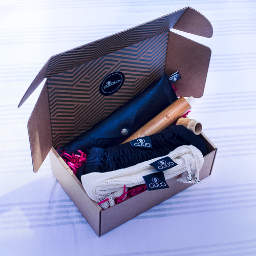 The Little GUUD Box | The Essential Zero Waste Gift Set in BLACK
