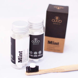 Eco-friendly Single Toothbrush Overnight Kit - GUUD Products