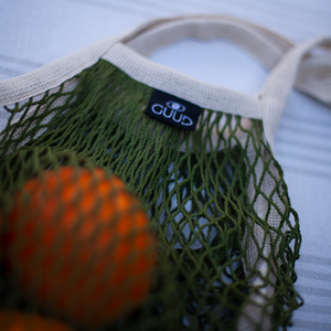 French Market Mesh Tote Bag