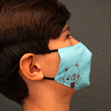 Load image into Gallery viewer, GUUD Brand All Cotton Reusable Children's Face Masks 2-Pack