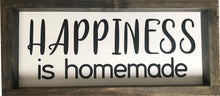 Load image into Gallery viewer, Happiness Farmhouse Framed Sign