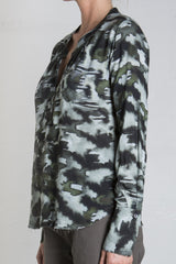 Pharaoh Michelle Blouse - Camo
