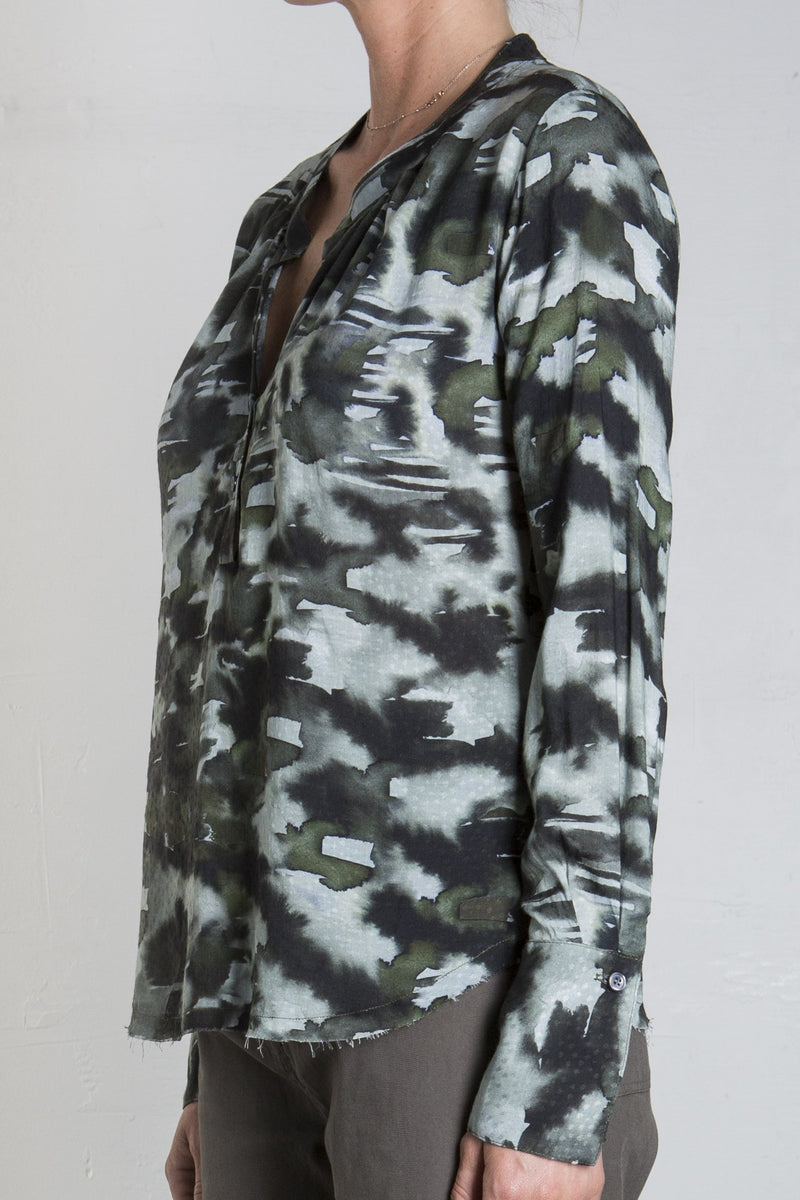 MICHELLE BLOUSE - CAMO