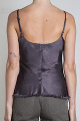 Pharaoh Dawn Cami Vintage Satin - Graphite