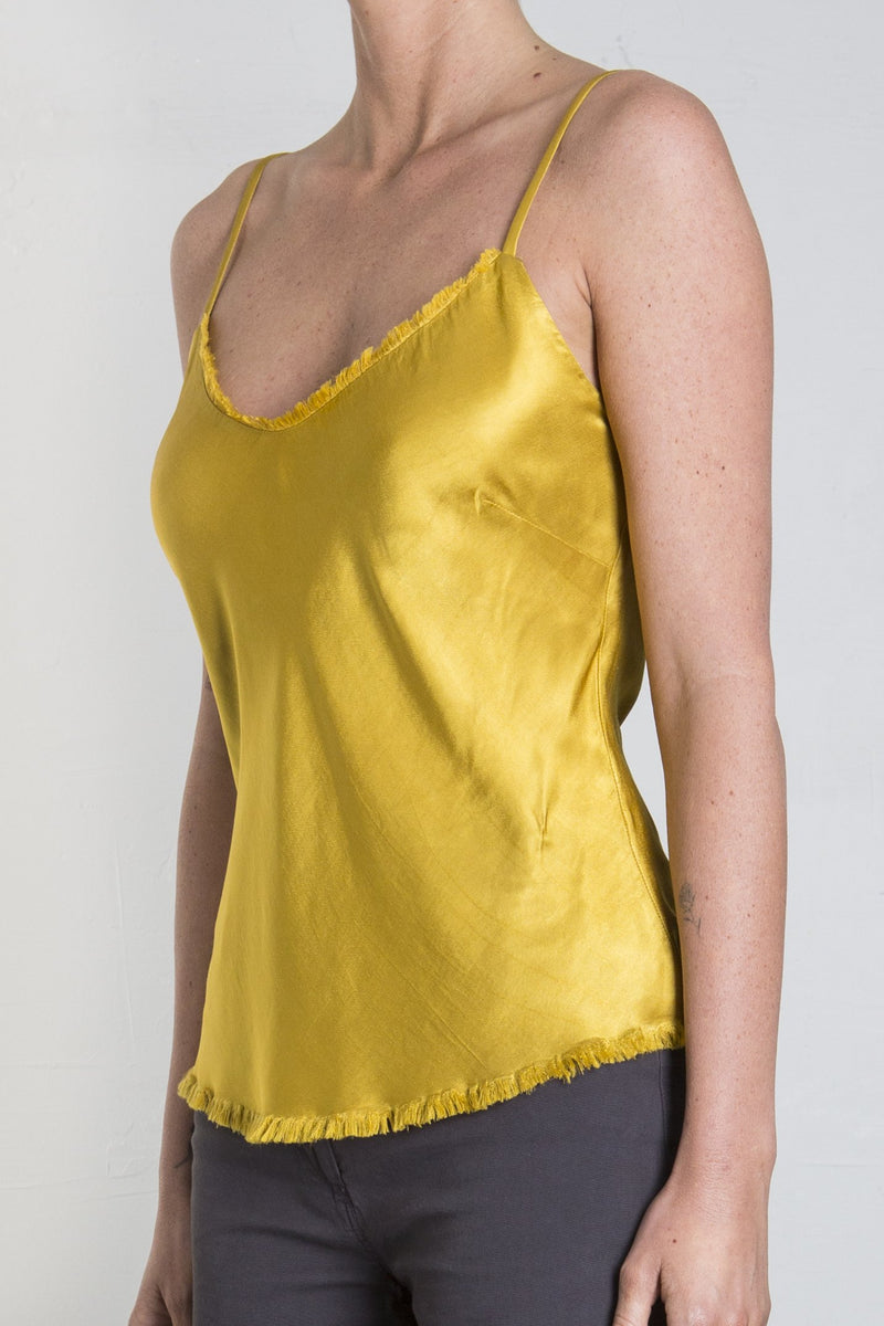 Pharaoh Dawn Cami Vintage Satin - Sun