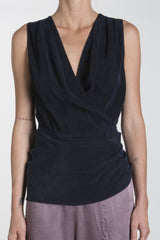 LINDA SLEEVELESS BLOUSE - NIGHT