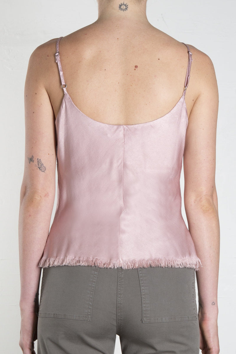 DAWN CAMI VINTAGE SATIN - BLUSH